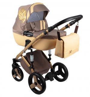 Коляска 2 в 1  Marshal, цвет: бежевый Baby World
