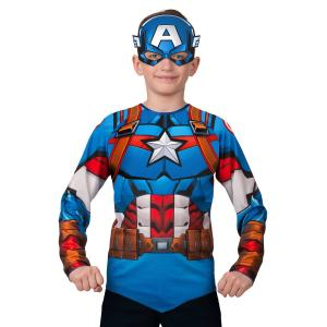 Карнавальный костюм  Капитан Америка. Мстители Батик