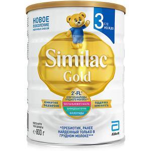 Молочная смесь  Gold 3, с 12 мес, 800 г Similac