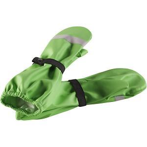 Варежки  Kura Reima. Цвет: зеленый