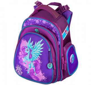 Ранец с наполнением Hummingbird. Цвет: фиолетовый