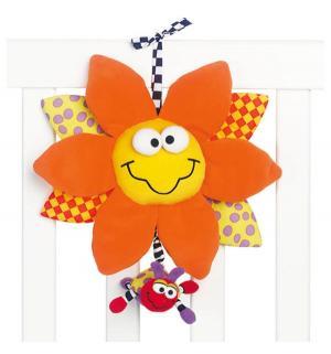 Мягкая игрушка-подвеска  Цветок со звуком Playgro