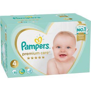 Подгузники  Premium Care 9-14 кг, 82 шт Pampers