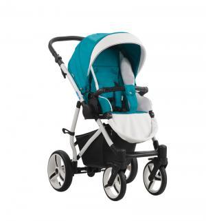 Прогулочная коляска  Medio, цвет: темно-бирюза/белый Aroteam