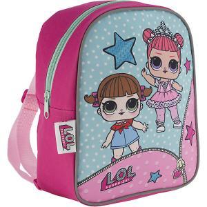 Рюкзак детский AKADEMIA GROUP Куклы L.O.L MGA. Цвет: розовый