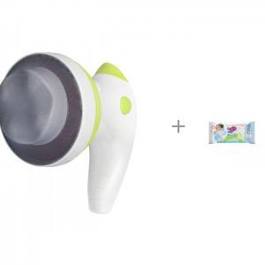 Массажер для тела 4 в 1 с ИК прогревом Body Shaper Pro и влажные салфетки L 20 шт. Manuoki Gezatone
