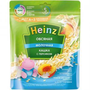 Каша  молочная овсяная с персиком 5 месяцев 200 г Heinz