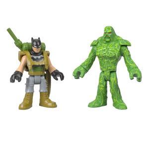 Игровой набор  DC Super Friends Batman Swamp Thing Imaginext