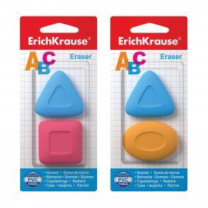 Набор из 2-х ластиков ABC, Erich Krause ErichKrause