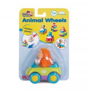 Машинка  Зверушки на колесиках Обезьянка Happy Kid
