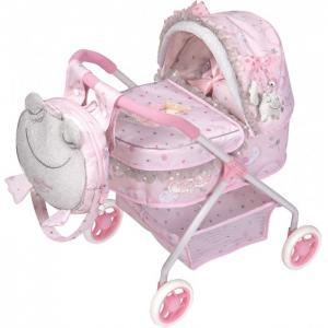 Коляска для куклы  с рюкзаком Мария 56 см DeCuevas
