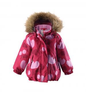 Куртка  Tec Pihlaja, цвет: розовый Reima