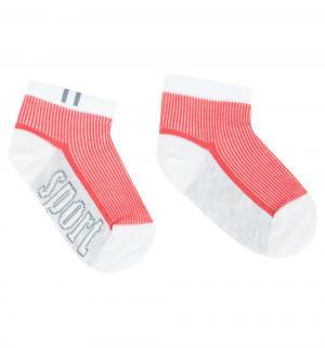 Носки  ACTIVE, цвет: белый/красный Conte Kids