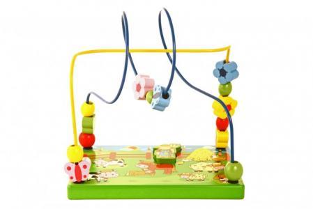 Деревянная игрушка  Лабиринт Ферма Viga