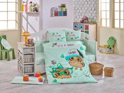 Комплект в кроватку  Cool Baby 100х150 см (10 предметов) Hobby Home Collection