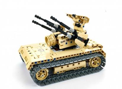 Радиоуправляемый Зенитный танк (457 элементов) QiHui