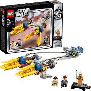 Конструктор  Star Wars 75258: Гоночный под Энакина: выпуск к 20-летнему юбилею LEGO