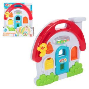 Игрушка развивающая  Музыкальный домик S+S Toys