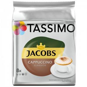 Кофе в капсулах Cappuccino для машины Tassimo 8 шт Jacobs