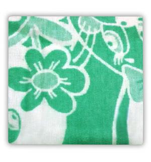 Одеяло 100 х 132 см, цвет: зеленый Осьминожка