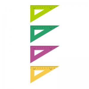 Треугольник  10 см пластик Стамм