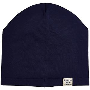 Шапка  для мальчика Button Blue. Цвет: темно-синий