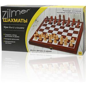 Настольная игра Шахматы  ,30,5х15,3х4,2 см, дерево Zilmer. Цвет: разноцветный