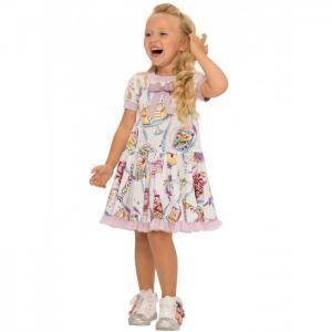 Платье для девочки Zoo О54630 Карамелли