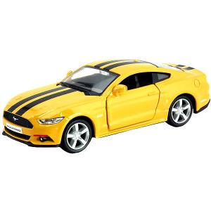Металлическая машинка  Ford 2015 Mustang with Strip, 1:32 RMZ City. Цвет: разноцветный