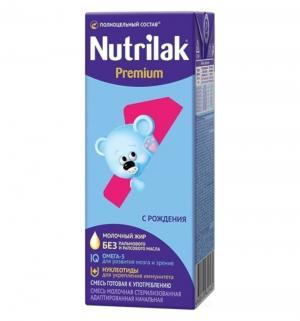 Молочная смесь Nutrilak Premium + 1 адаптированная 0-6 месяцев, 200 г Нутрилак