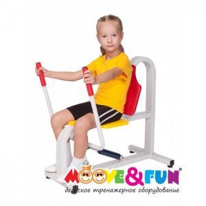Детский тренажер Жим от груди Moove&Fun
