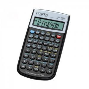 Калькулятор научный SR-260N 10+2 разрядов Citizen