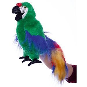 Мягкая игрушка  «Зеленый ара», 56 см Folkmanis. Цвет: разноцветный