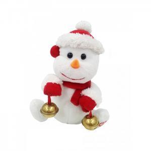 Интерактивная игрушка  Снеговик Джек механический 18.5 см LAPA House