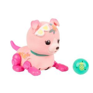 Игровой набор  Щенок с мячиком Shine Apple розовый 8 см Little Live Pets