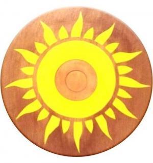 Деревянная игрушка  Щит круглый 35 см Яигрушка