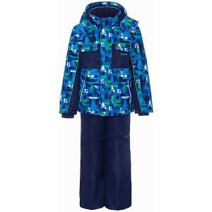 Комплект : куртка, полукомбинезон Zingaro by Gusti. Цвет: голубой