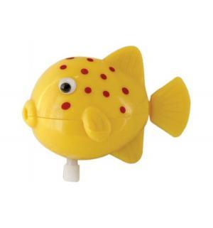 Игрушка для ванной  Рыбка желтая Тилибом