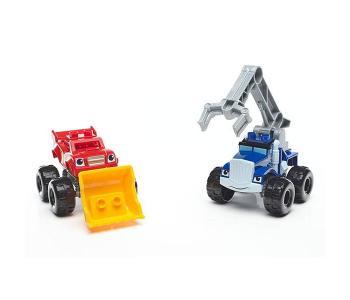 Конструктор  Вспыш: монстр-траки с аксессуарами (14 деталей) Mega Bloks