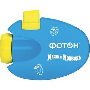 Мультфонарик-проектор  Маша и Медведь Фотон. Цвет: голубой