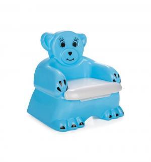 Горшок  Bobo Child Potty со свистком, цвет: голубой Pilsan