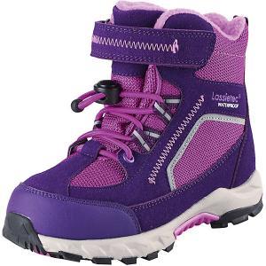 Утепленные ботинки LASSIE. Цвет: лиловый