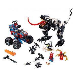 Конструктор  Super Heroes 76151: Человек-Паук: Засада на веномозавра LEGO. Цвет: разноцветный