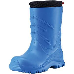 Резиновые сапоги Frillo  tec® для мальчика Reima. Цвет: голубой