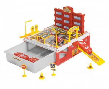 Паркинг 2-уровневый Пожарная станция (27 деталей) BeBoy