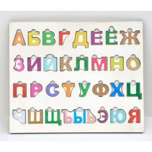 , Алфавит-пазл Дары природы, (русский) Iwoodplay