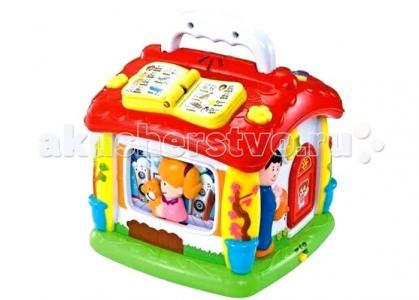 Игровой центр для малышей Домик Huile Toys