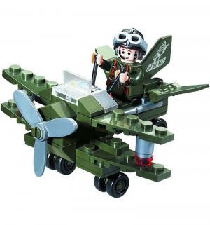 Конструктор  Военный самолет (50 дет) Brick