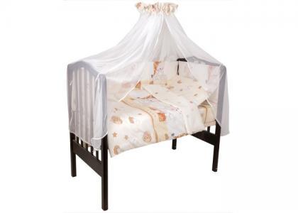 Комплект в кроватку  Мой ангелок (7 предметов) Idea Kids