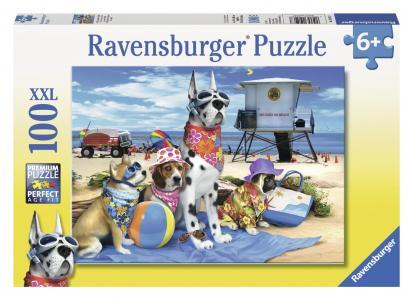 Пазл  XXL Собаки на пляже Ravensburger